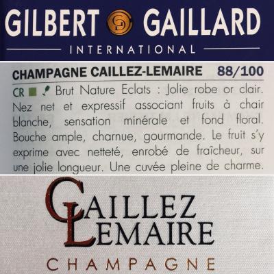 Champagne Eclats brut nature