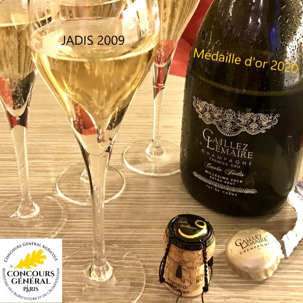 Champagne Jadis 2009