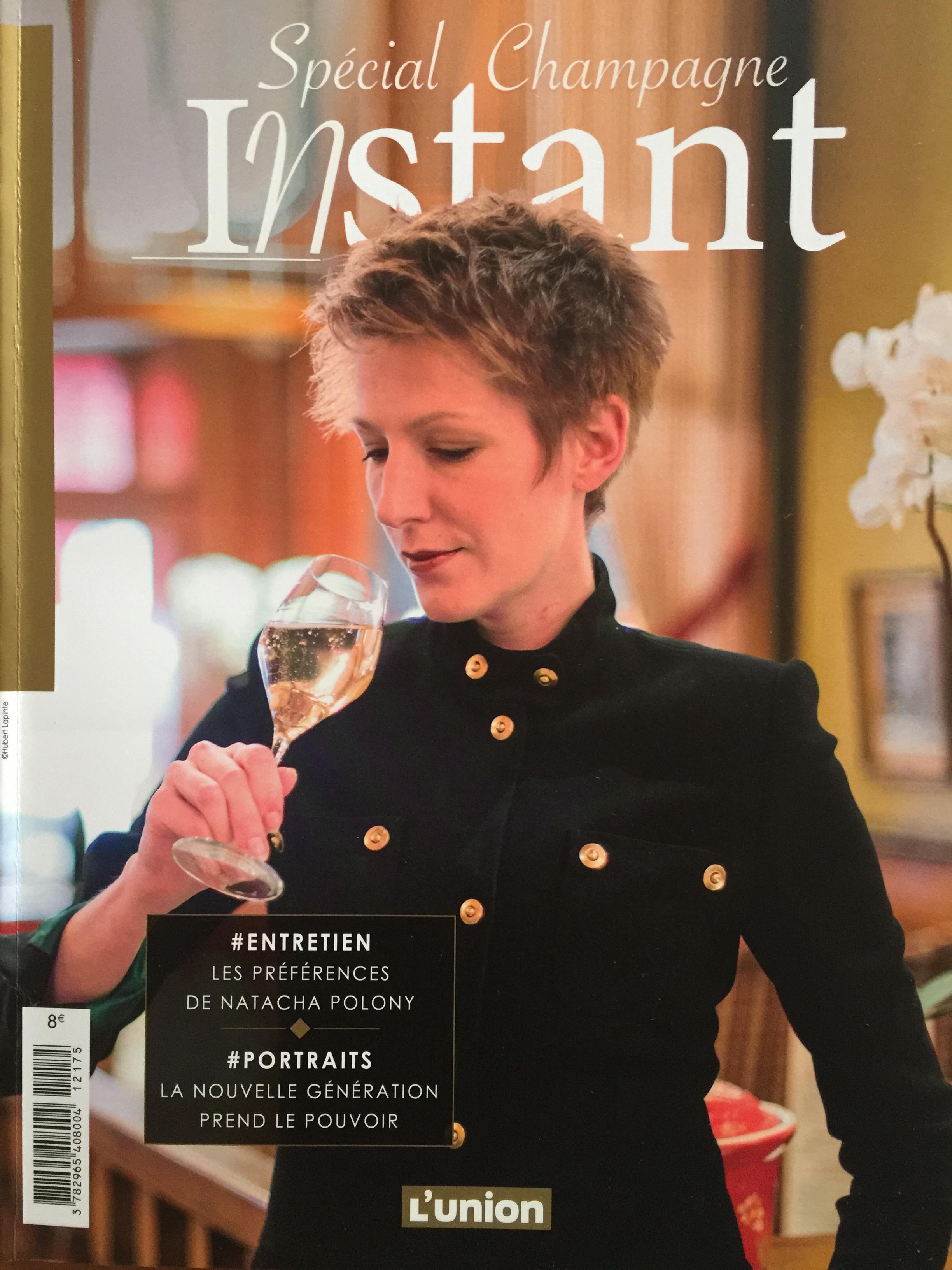 Journal L'Union, Instant, Spécial Champagne, pour les fêtes