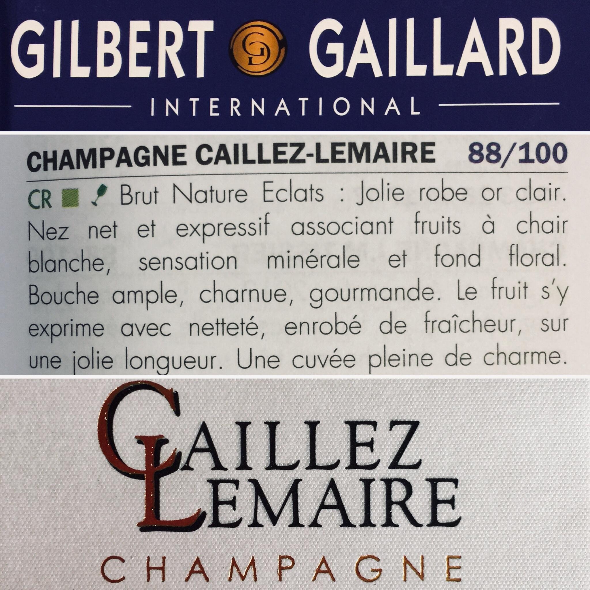Champagne d'assemblage : Chardonnay, pinot noir, meunier ; vinification majoritaire en fûts de chêne ; 5 ans sur lattes.